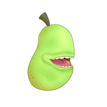 Its The Pear!!! by xXaldabutterXx