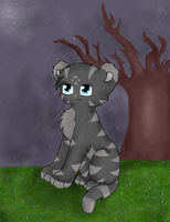Left out in the rain by Gigglecub