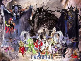 Final Fantasy IV Wallpaper by Final-FantasyIV-Club