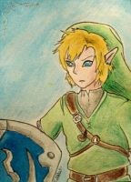 ACEO 45 - Link by Clopina