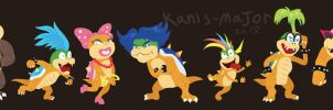 Koopalings by Kanis-Major
