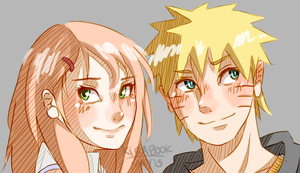 Naruto AU - Actual Concepts by Kirabook