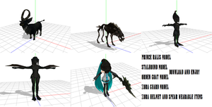 MMD Twilight Princess Items 2 by Valforwing