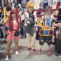 Kairi Meets Up With Roxas and Sora! by TheDreamerWithin616