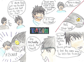 Blue Exorcist Comic by IcetalonWCW
