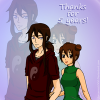 Five years on Deviantart! by Sorceress2000