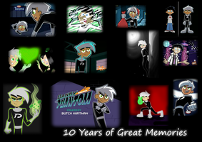 10 Years of Great Memories by DeannaPhantom13