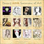 Dawn's 2012 Summary of Art by DawnArts