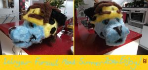Zelnyair Fursuit Mask by MorbiusMonster