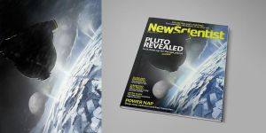 Cover image for New Scientist magazine by alexandreev