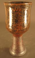 goblet with iron oxide stem by JayRoth