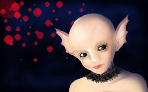 Cute alien by MirielDesign