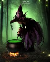 Little Witch by staples5mm