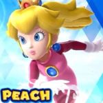 Peach in M@S 2014 Olympic Winter Games icon by AnimePeach09