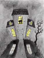 House On The Hill by CatAddams