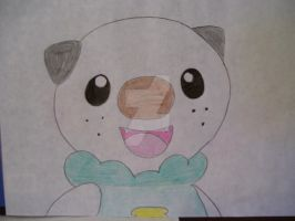 Oshawott is happy. by AJLeefan4life