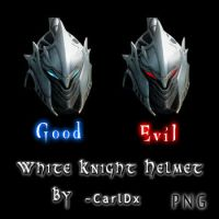 White Knight Chronicles Helmet by CarlDx