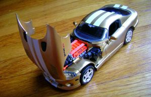 Dodge Viper SRT die-cast model by 2GodBtheGlory