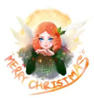 Merry christmas all!! by KimKM