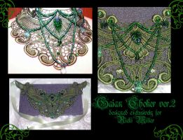 Gaian choker ver2 by redLillith