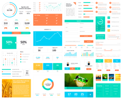 Huge Infogrpahic / UI Elements Kit by this-optimism