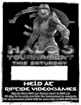 Halo 3 tourny flier by Swaptrick