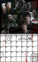 May 2011 Calendar by glomdi
