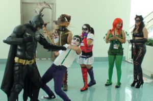 Best Action Cosplays at Anime Expo 2013 by trivto