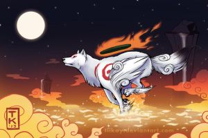 Okami: River of the Heavens by tiikay