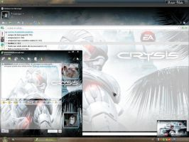 MSN 8.5 Crysis by marcoblade