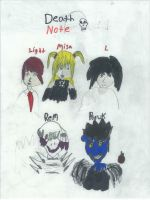 Failed Death Note Fanart by FallenTributes