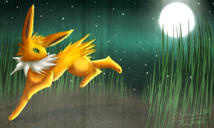 Gift: Jolteon by ZailaWulF