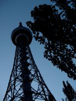 TV Tower in park by Deepskyer