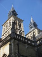 towers St Servaaschurch by marob0501