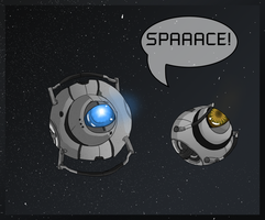 Spoilers- SPACE by MapleSpyder