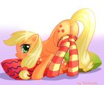 Applejack mmm by fantazyme