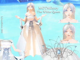 MoTM Entry White Queen by amai-kitten