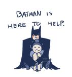Knight of the Night - Batman is Here to Help by ArtisticMii