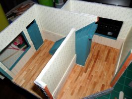 Les Shoppes Dollhouse Project: WIP 22 by kayanah