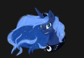 princess luna by ainemurray