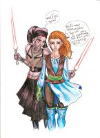 jedy and sith by Nefrit