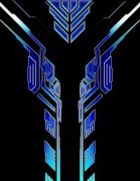 cyber tribal tattoo design by NeoGzus