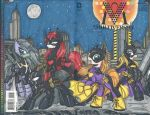 My Little Batmares by PonyGoddess