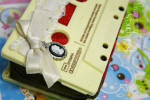 Hime Gyaru Recycled Purse by My-First-Diary