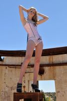 Monday - pink corset reprised 2 by wildplaces