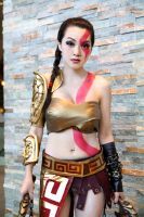 Fem. Kratos by EnchantedCupcake