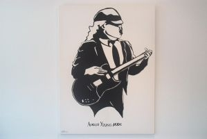 Angus Young by lookingfromdownunder