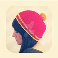 dbz inspired slouchy beanie by hellohappycrafts