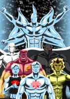 Captain Atom - Quantum beings ( Modern Era  DC ) by adamantis