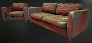Post-Apocalyptic Furniture by J-L-Art